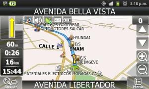 GPS para android con mapas de venezuela